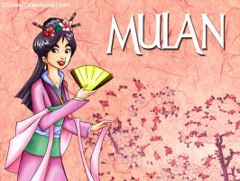 Mulan Wallpaper by 77Shaya77