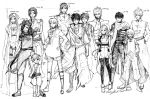 Legendary Ninja LN: Height Chart. by Changedarmor