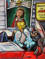Drive-Thru Annunciation by MuralsWithoutBorders