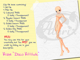 Aisha 'Disco Attitude' - Paid Base Pack by EnchantingRainbow