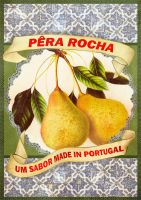 Poster - the pear from portugal by BeaMaia