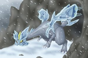 Cold as Kyurem by ClayPita