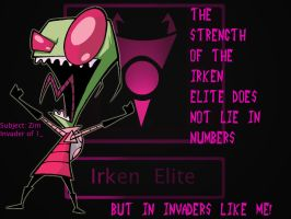 irken of one by WickedSweetNinja