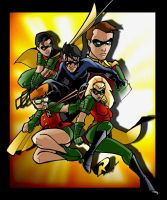 the Robins by AlexDeB