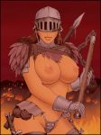 Barbarian Woman colored by rplatt