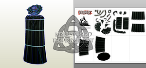 Berserk God Hand Void Papercraft Preview by HellswordPapercraft