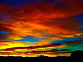 Sunset pt. II by Blue-BirdPhotography