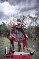 RWBY  Ruby Rose  II by MonicaWos