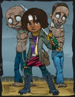Speed Vector - Lil Michonne and the Boys by lordmesa