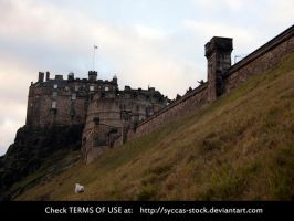 Edinburgh Castle 3 by syccas-stock