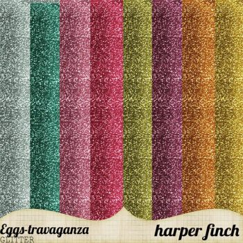 Eggs-travaganza Glitter by harperfinch