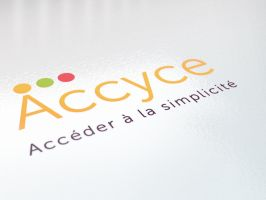 logo accyce by RiegersArtistry