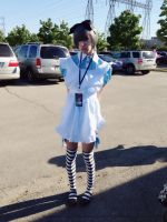 Ciel in Wonderland Cosplay from Kuroshitsuji by Witchell