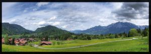 Oberstdorf Panorama 1 by deaconfrost78