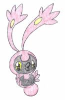 New bug fakemon fanart by FrozenFeather