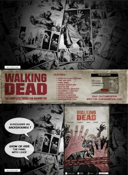 Walking Dead Suite -A complete theme for Rainmeter by virgiles