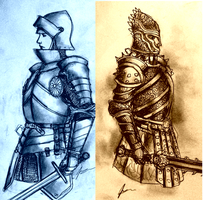 Women Warriors in Heavy Armor: Plain vs Evil? by Gambargin