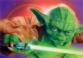 Yoda by roberthendrickson
