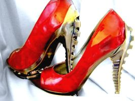 Spinal tap heels- Perfect Domme Shoes... by FetchItForMe