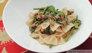 Tuna Farfalle by maytel