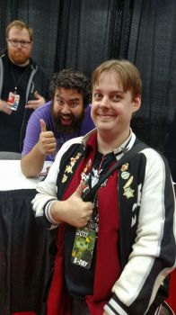 Me with The Completionist and Jesse Cox by Sephy90