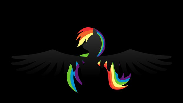 Rainbow Dash Wallpaper by klaxa