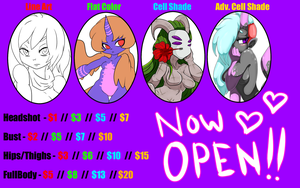 !!TAKING COMMISSIONS NOW!! by Zyntrix