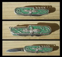 Eagle knife by ApricotProductions