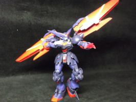 Master Gundam battle ready by forever-at-peace