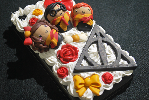 Harry Potter Decoden Case by dimeycakes