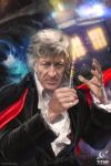 Doctor Who for Titan, the 3rd Doctor by JoshBurns