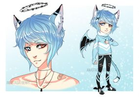 Adoptable auction CLOSED - Sinner #2 by Anastasia-berry