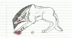 Emo Wolf by AskingAlexandra1