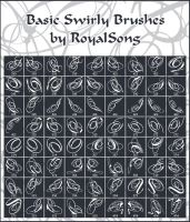 Basic Swirly Brushes by royalsong