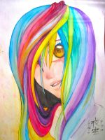 Rainbow Girl by VerticalForklift
