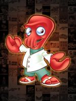 Why Not Zoidberg Mascot Design by LanotDesign