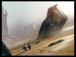 Desert_walk_01 by David-Holland
