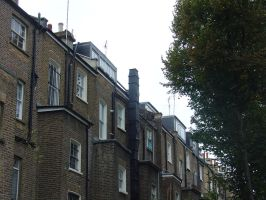 The back of Notting Hill by LunaticDesire