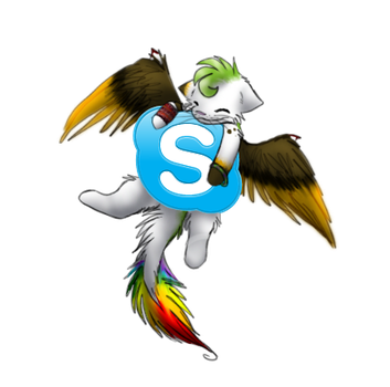 Skype icon by DoeKitty