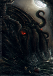 The Rise of Cthulhu by Sebastien-Ecosse