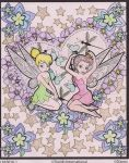Tinkerbell and Rosetta by DemonaHeartBreak