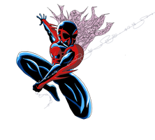 Spider-Man (2099) by Kumata