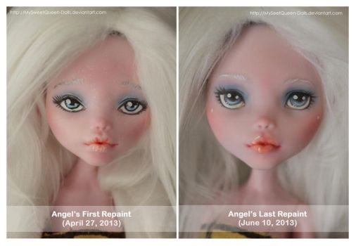 Then and Now: Angel by MySweetQueen-Dolls