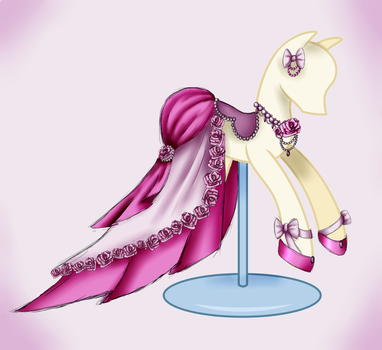 Rose Dress -commission- by Beyond-Birthday-666