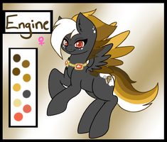 Engine - Ponysona by li-Fae
