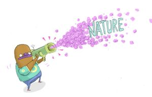 nature cannon by mrdynamite