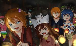 MoE - Festival Lampion by u-m-a-i-i