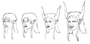 Lilith - sketches by CloserRook
