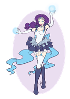 Sailor Rarity by princessdabby