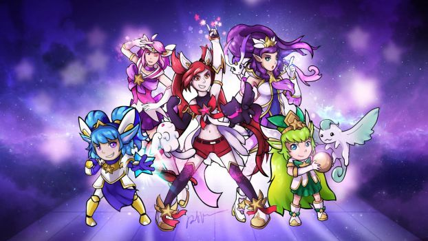 Flight of the Star Guardians by Ravenide